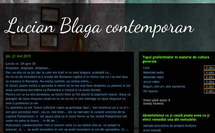 ed5 (ELECTRONIC - blog, site, aplicatie) lucian blaga contemporan_Liceul_Lucian Blaga_Bucuresti_BUCURESTI SECTOR 2