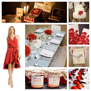 Board #14 Salsa Inspired Wedding   Cordier Event Planning