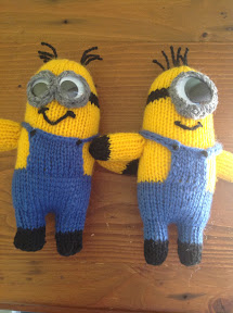 Small Heart Knitting Pattern : Free Despicable Me Minion Knitting Patterns The Knit Guru