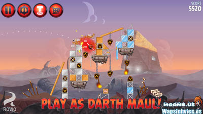 Angry Birds Star War II hack full coin