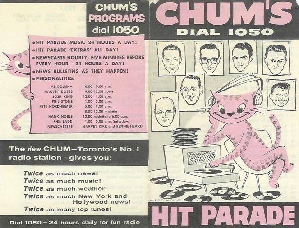 1050 CHUM MEMORIAL BLOG: SAMPLES OF CHUM LINEUPS