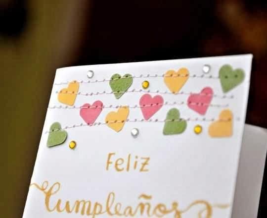 Postal de cumpleaños para tarjetas