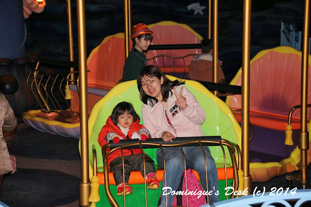 Tiger girl and me on the Jumping Jellyfish Ride