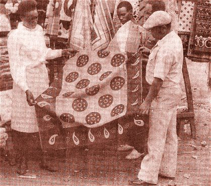 khanga, kitenge, dashiki, kaftan, batik