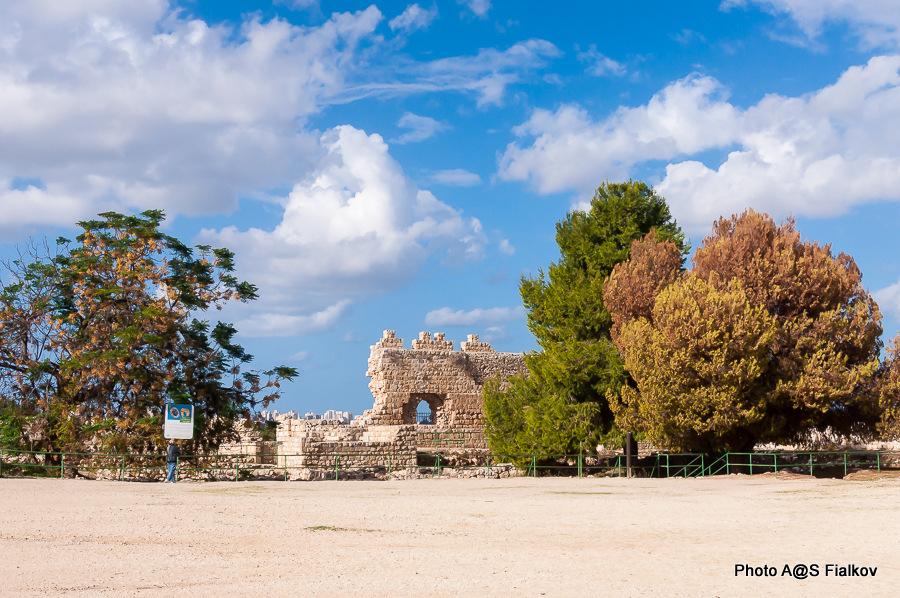 Антипатрис. Крепость Бинар Баши. Экскурсия в парк Тель Афек. Гид в Израиле Светлана Фиалкова.
