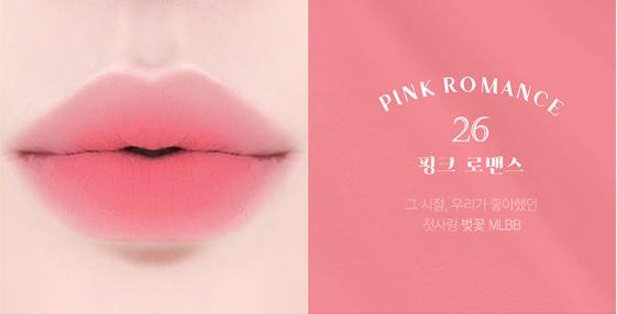 SonBBia Last Velvet Lip Tint 6 Pink Romance