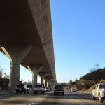 The Harbor Freeway's FastTrak lanes