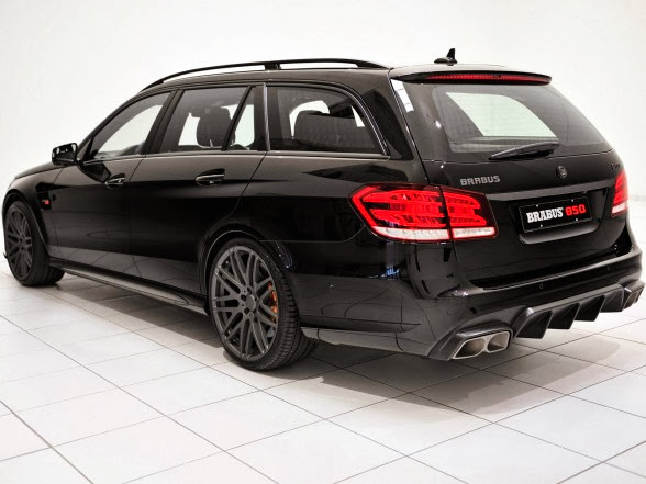 2014 Brabus Mercedes-Benz E63 AMG Wagon - Rear Angle