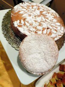 Taste of Zupan's- Dessert Tray's Italian Almond Cake