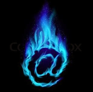Blue Flame Tattoos