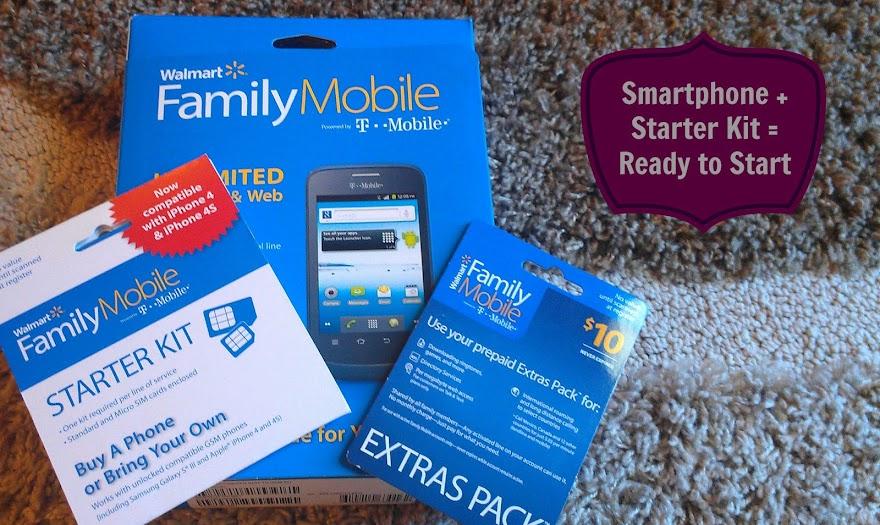 Walmart Family Mobile Phone and Starter Kit #shop #cbias #FamilyMobileSaves