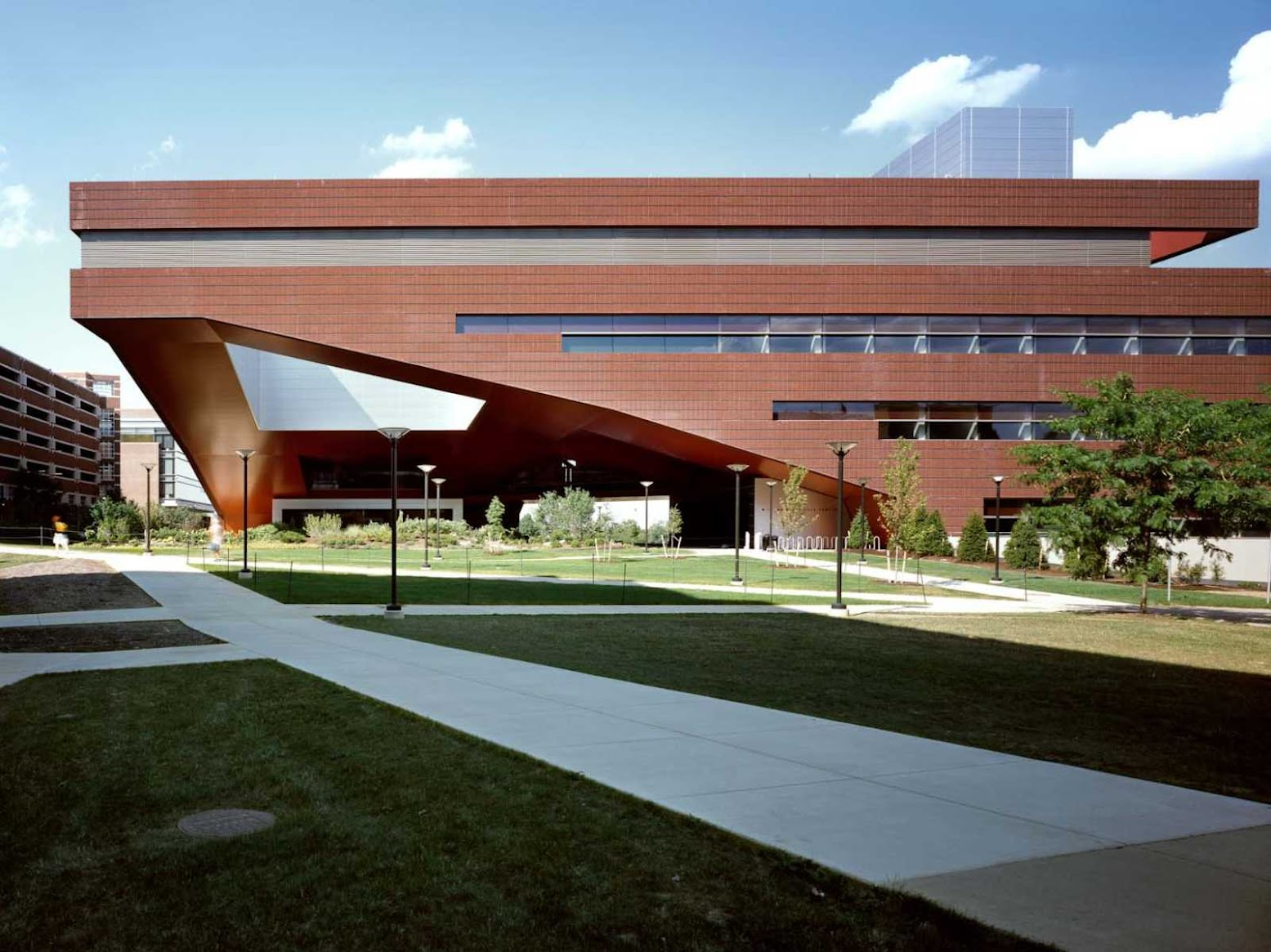 State College, Pennsylvania, Stati Uniti: [MILLENNIUM SCIENCE COMPLEX BY RAFAEL VIÑOLY ARCHITECTS]