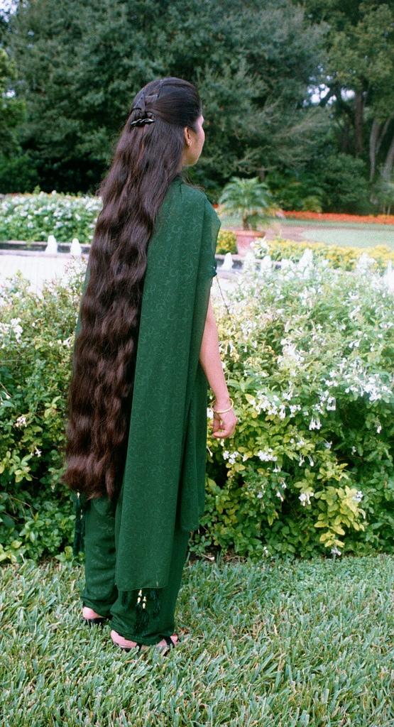 Longhairgirls Very Long Hair Indian Women-1765