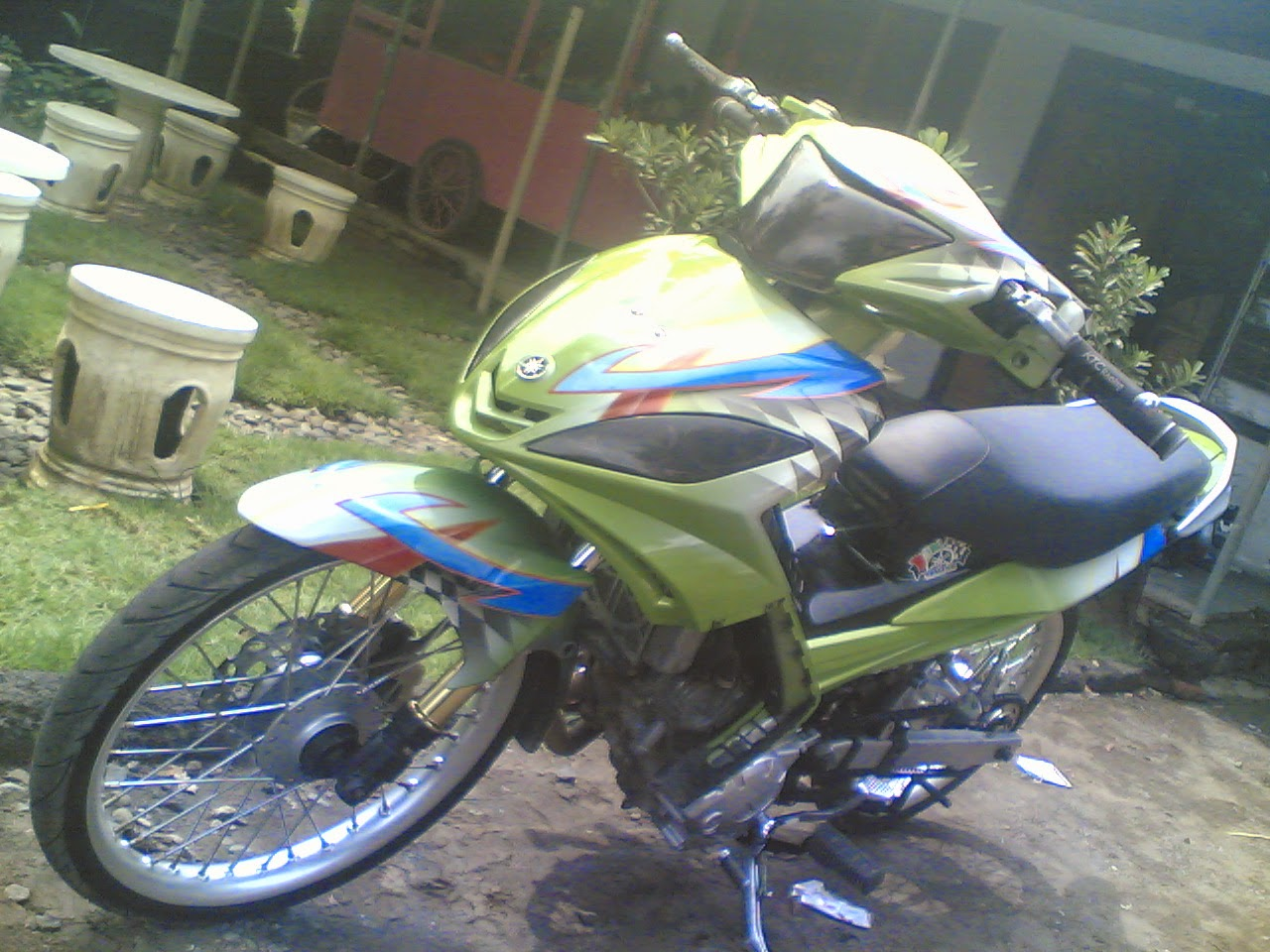 Modifikasi Jupiter Mx Gasstrack