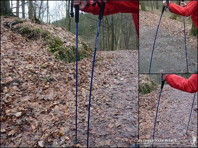 Trekkingstöcke Camp Xenon im Einsatz