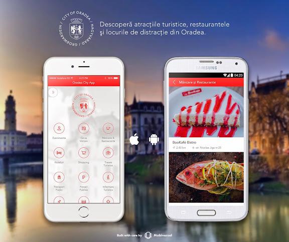 Aplicaţia de turism a municipiului şi a staţiunii Băile Felix, Oradea City App #1