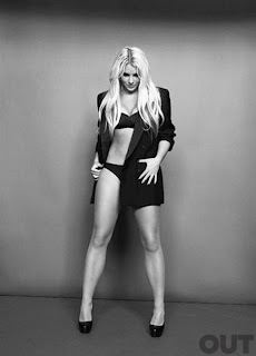 Britney Spears - Out Magazine April 2011