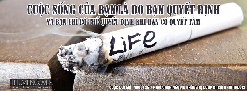 Ảnh bìa không hút thuốc lá