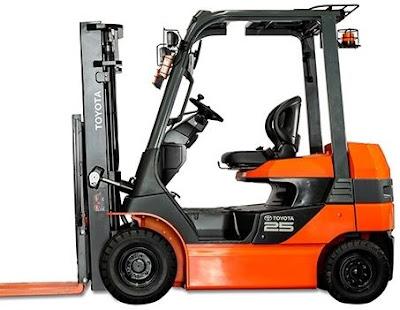 Xe nâng điện Toyota 2.5 tấn 8FB25