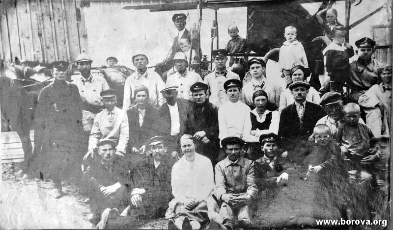 пожарна команда Борової у 20-х роках