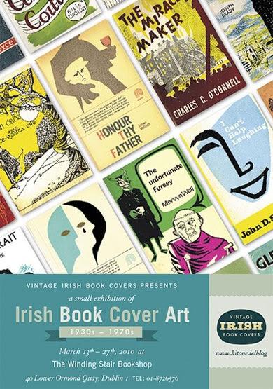 Retro Book Cover Art : Letterology retro irish book cover art