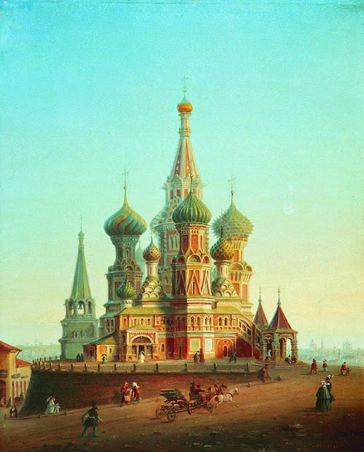 Alexey Bogolybov - Saint Basil's Cathedral