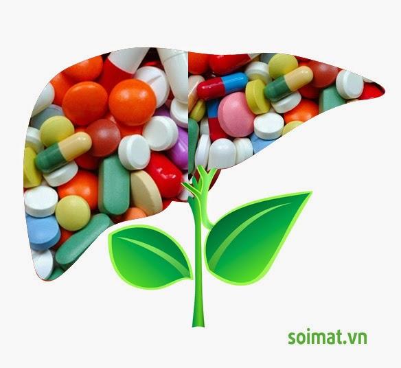 Hại cho gan khi sử dụng quá nhiều thuốc