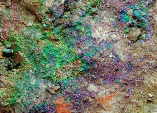 Goethita irisada de Segundo Pompeyo