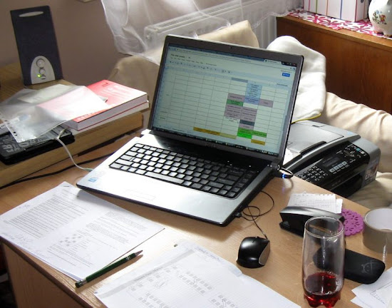 planowanie wesela na komputerze