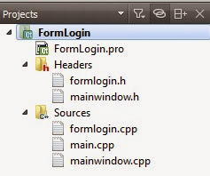 FormLogin Structure