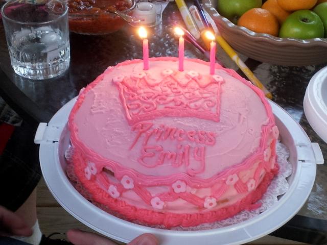 a princess cake for my princess