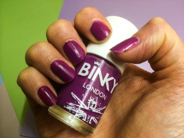Binky-London-purple-gel