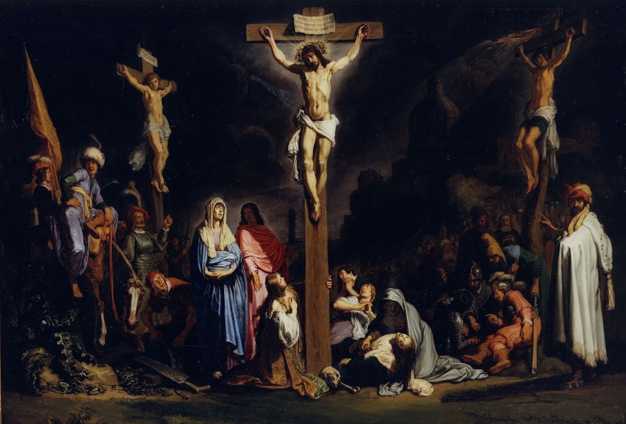 The Crucifixion, by Pieter Lastman (1616)