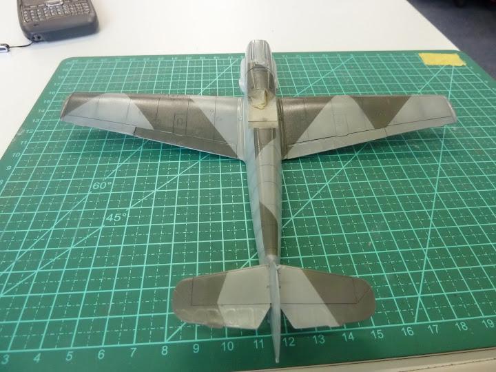 Bf-109 E-3 Tamiya 1/48 - Reforma pintura P1020492