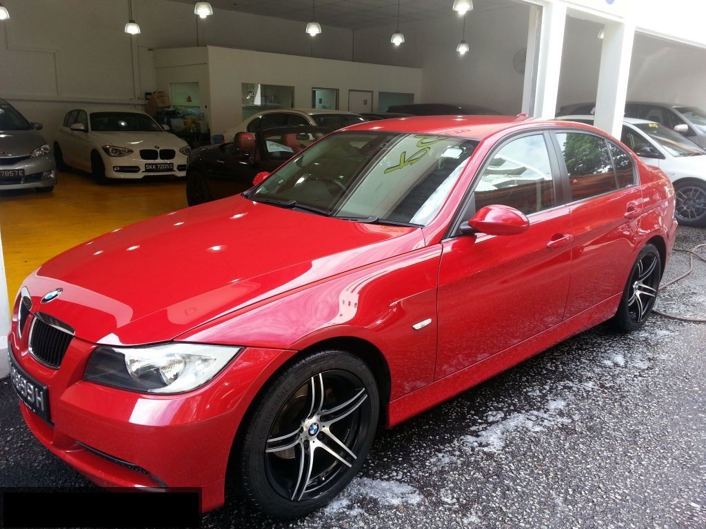 Red Horses Motor BMW Red