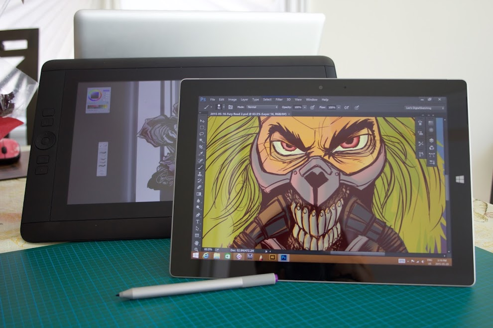 Review: Microsoft Surf... Cool Lighter Drawings