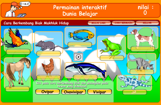 dunia belajar interaktif animasi materi file swf hasil macromedia flash swf/flash interaktif dunia belajar gratis. game flash belajar ipa sd interaktif