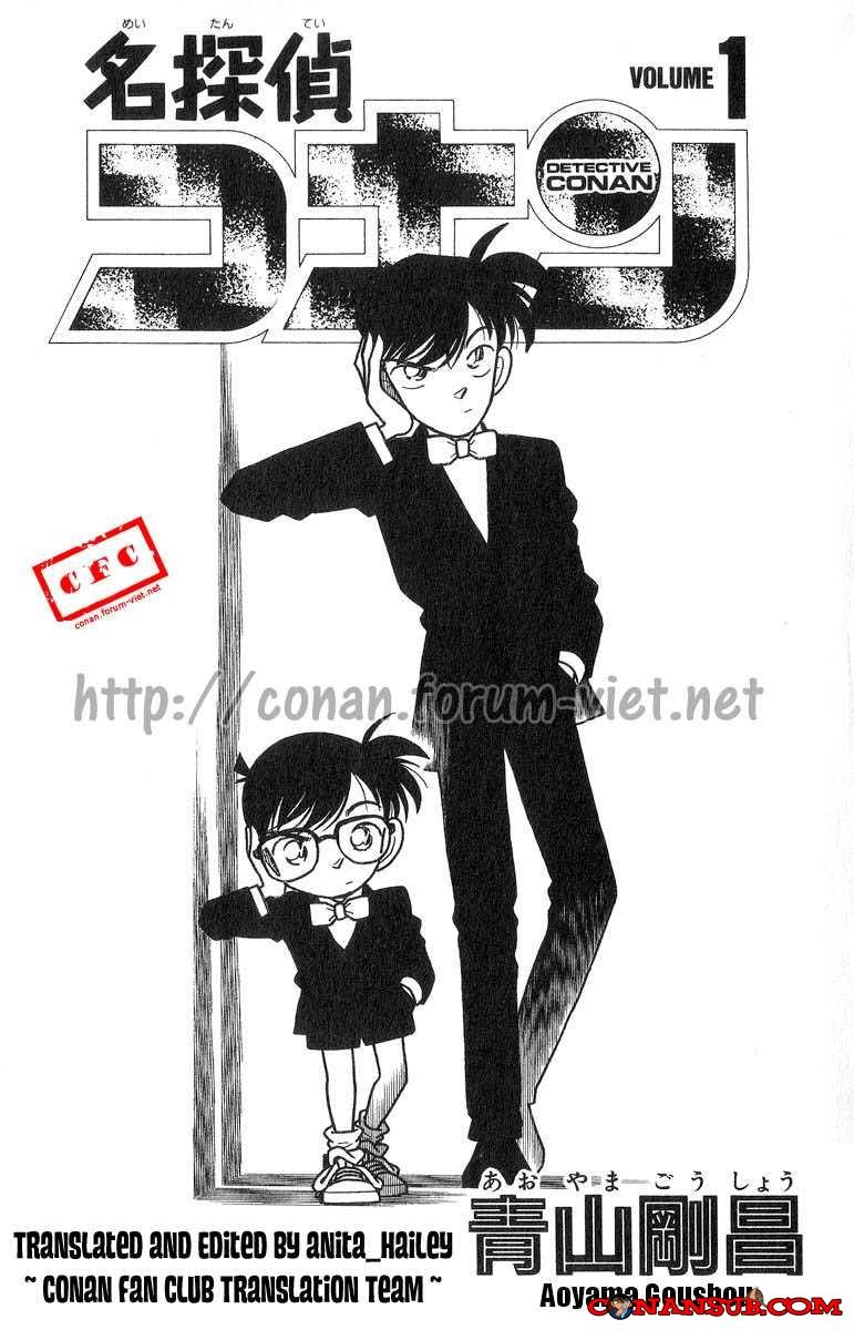 cn 001, Thám tử lừng danh Conan chap 1    NarutoSub