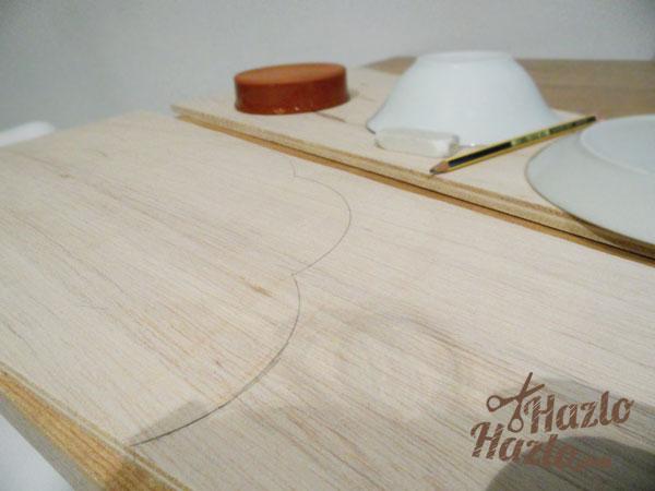 Hacer una tabla de madera