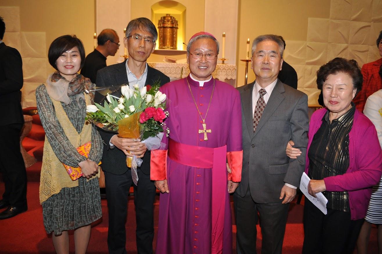 2015 견진성사 / 사목보고 -김운회 루까 주교님 방문