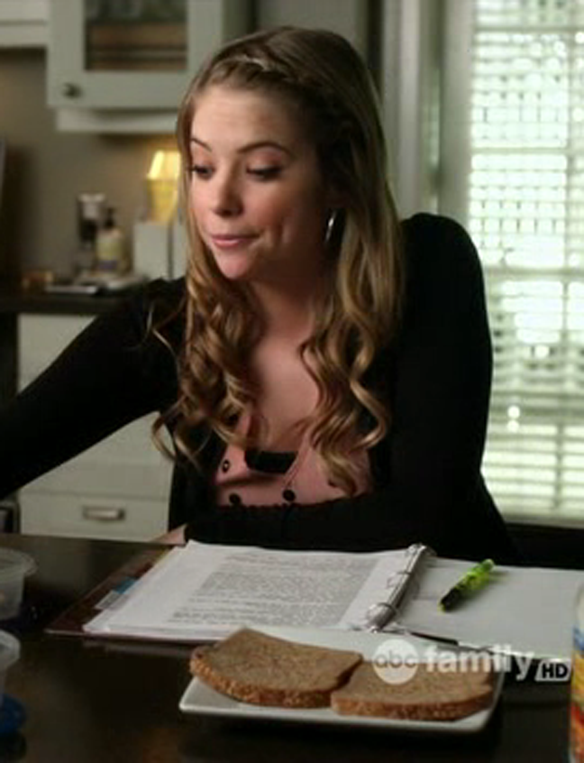Pretty Little Liars Hairstyle - Hanna s Side Braid and Loose End WavesPretty Little Liars Hanna Hairstyles
