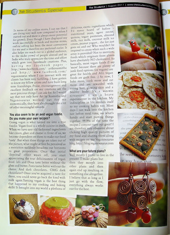 The Students Mag interview page 3