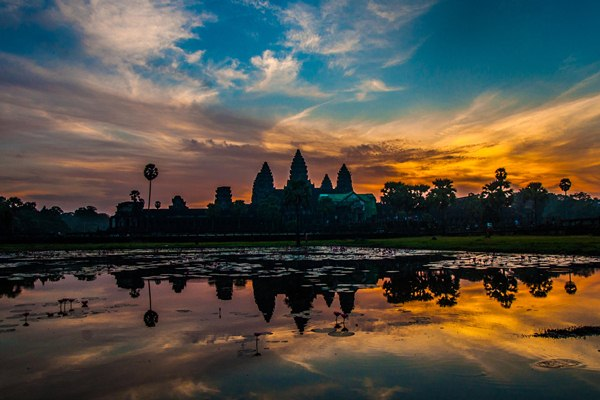 Glorious Sunrise of Angkor