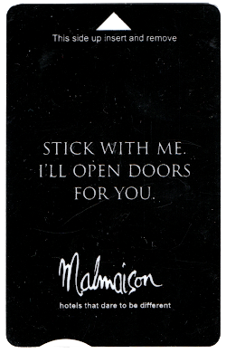 Malmaison Keycard