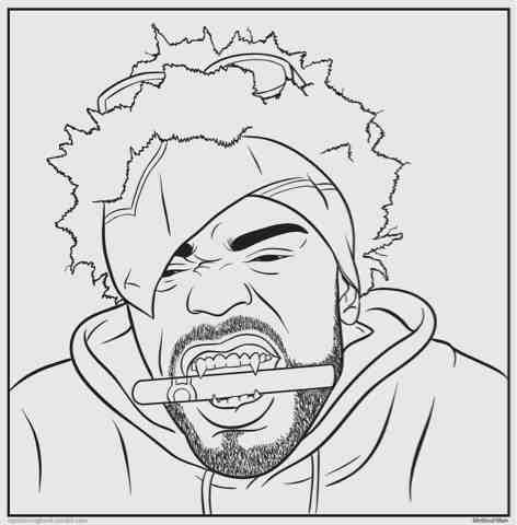 The gallery for hip hop dancer coloring pages for Hip hop coloring pages