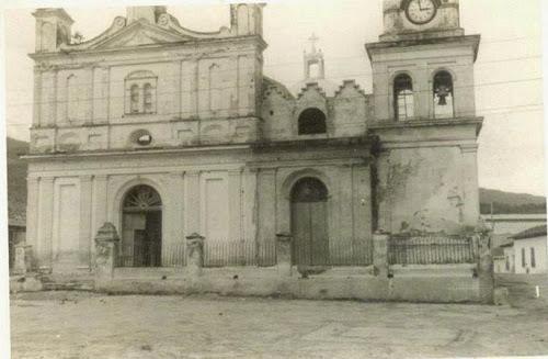 Catedral de Chalatenango en 1958
