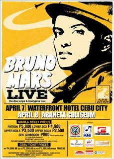 BRUNO MARS LIVE IN MANILA