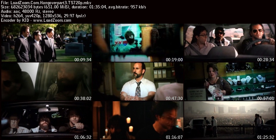 movie screenshot of The Hangover Part III fdmovie.com