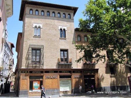 Torreón Fortea, Plaza de San Felipe, Zaragoza