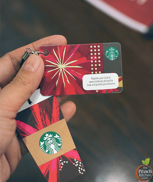 Starbucks Card Christmas Edition